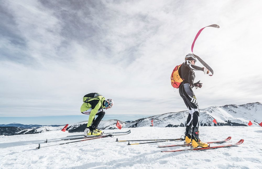 Rando Raid - © Join us for the 4th Annual Rio Hondo Rando Raid on the COSMIC Race Series at Taos Ski Valley, New Mexico. This year the Rio Hondo Rando Raid will be home to the US Ski Mountaineering Nationals with a two day event: