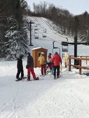 Ski Brule - Ski Brule is open and the weather conditions are great! Ski on!  - ©Sammy
