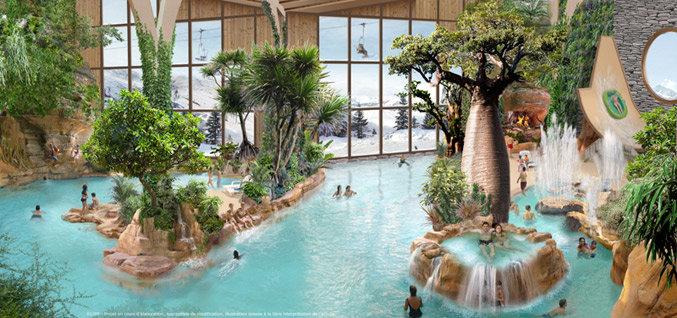 Aquariaz – vodný park v Avoriaz - © Pierre et vacances