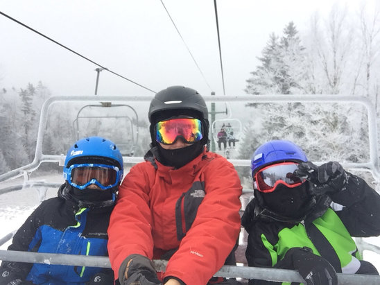 Snowshoe Mountain Resort - Fun opening weekend - © Arr's iPhone