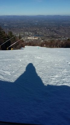 Stratton Mountain - first day of the Season. Excellent conditions. We love you Stratton! - © boruchdm