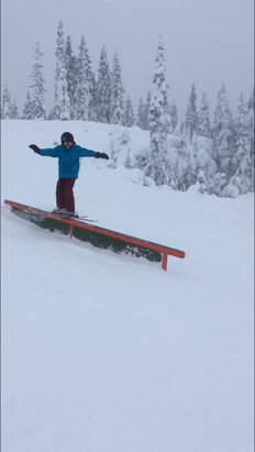 Stevens Pass Resort - Very nice pow and the park was great although they didnt have enough snow for any jumps. Powder was very easy to find on seventh he - © Dave
