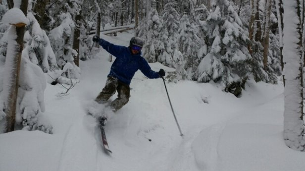 Sugarbush - Beautiful on Saturday. The snow just kept coming! Best first day of the season I've ever had. - ©David