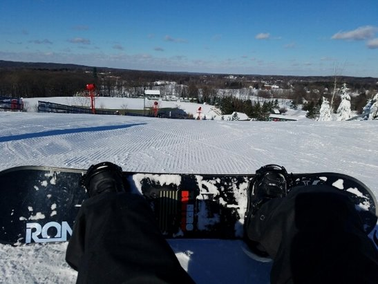 Pine Knob Ski Resort - cold day but we were all alone! suckers! - © KWW