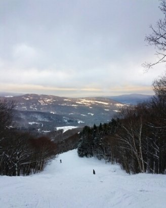 Sugarbush - Yesterday was awesome!! Not looking good for tomorrow, but this is New England.....  - © Sam