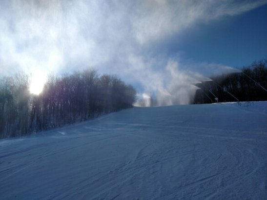 Okemo Mountain Resort - Skiing great!  Thanks to snowmaking/grooming ops!