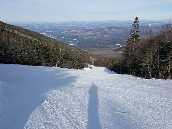 Cannon Mountain - A bit late in posting, but I was there on 12/20.  It was post the rain event on Sunday, so it was firm conditions.   In high traffic areas it was a sheet of ice by mid afternoon, but otherwise good.   - ©carleton