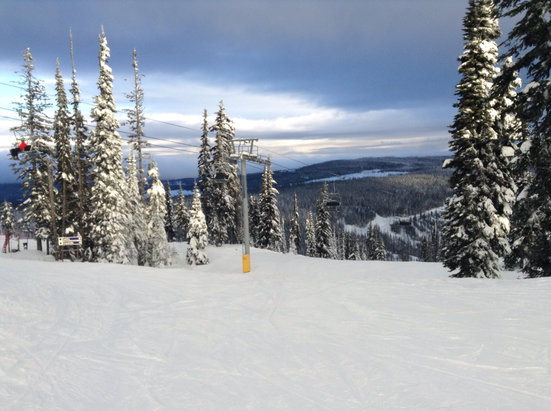Sun Peaks - Good day of skiing. Conditions are good for early season.  - © Gerald & Sandy