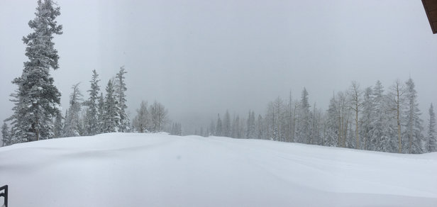 Eagle Point - POW!!! Still snowing!! - © Janese's iPhone