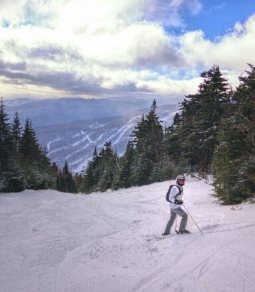 Stowe Mountain Resort - Awesome conditions on Sunday!  One of the best ski trips in the Northeast. - © ChiJRT