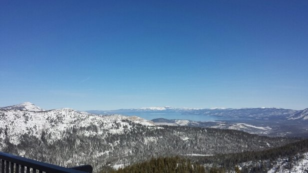 Sierra-at-Tahoe - From the balcony (12/26) of the restaurant at the top of the mountain . . . forgot the name.  - © IslandBoy
