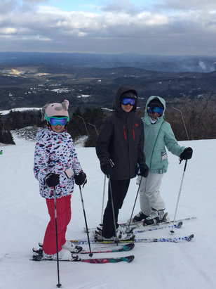 Okemo Mountain Resort - Not bad for a crowed holiday week. Hoping for some fresh snow tomorrow  - © Jims's iPhone