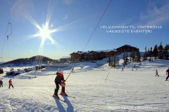 Norefjell - 27 des 2011 sol 677px