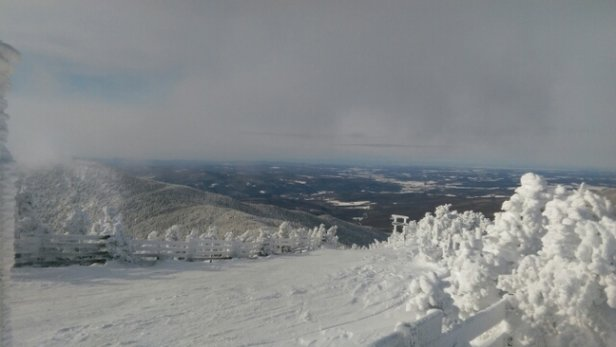 Jay Peak - like a winter wonderland, best last day of the year. can not wait for what's to come in 2017 - © anonymous
