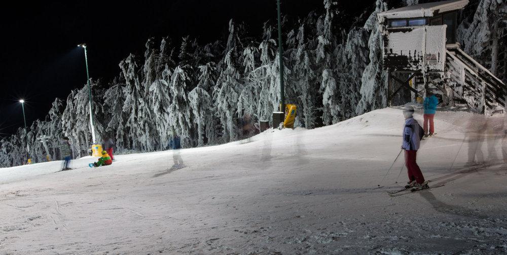 Die Salomon JAUnight im Skigebiet Jauerling - © Josef Salomon - wachaufoto.at