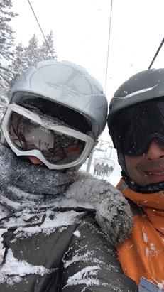 """Deer Valley Resort - 2017 started with a great powder day!!! Over 10""""!!  Snowed all day. Powder everywhere!! - © UntouchedPowder"""