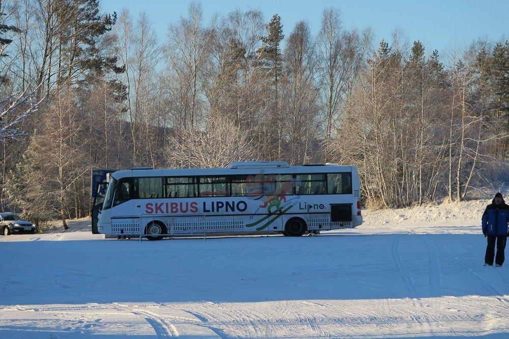 Skibus Lipno - © Skiareál Lipno