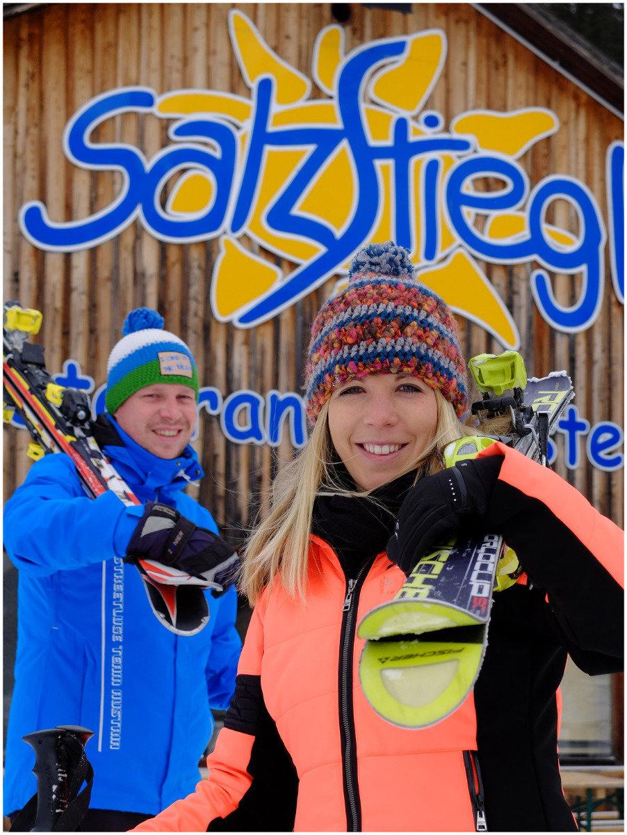 Winterspaß im Skigebiet Salzstiegl - ©  Salzstiegl Tourismus GmbH