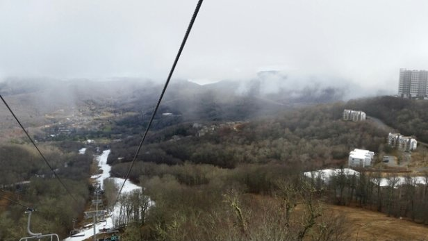 Sugar Mountain Resort - 01/02/2017 - cool views of the clouds - © anonymous