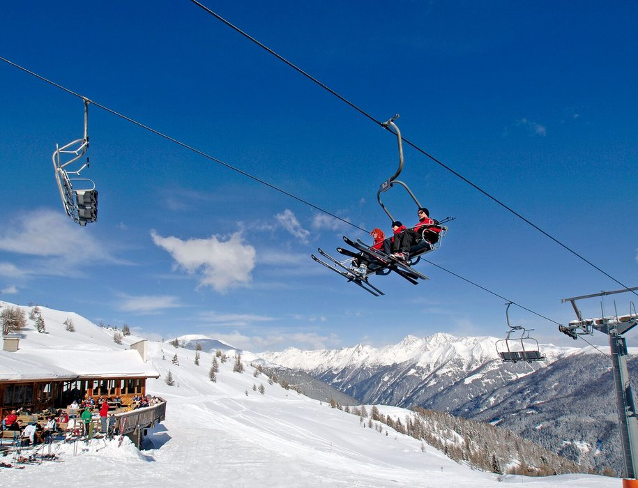 Auf dem Weg nach oben im Skizentrum Sillian - © Skizentrum Sillian