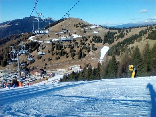 Folgaria - ottima neve giornata meravigliosa - © robielelilli