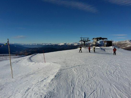 Tre Cime Dolomiti - Ieri ed oggi giornate bellissime. Neve eccellente fino alle 14. Voto 10 all'organizzazione per il perfetto innevamento.Aperto tutto. - © yamalupin