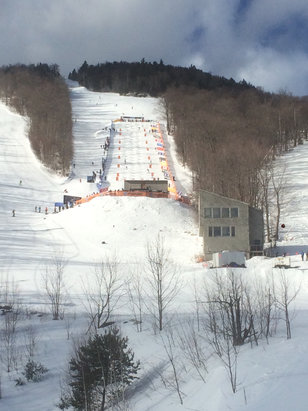 Whiteface Mountain Resort - World Cup mogul day !! Great job !  - © iPhone