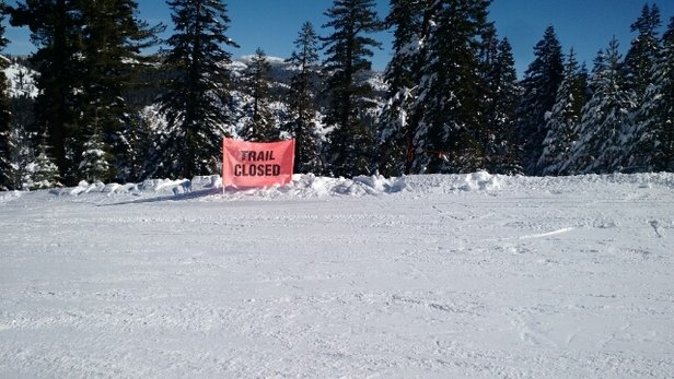 Ski China Peak - So it looks like China Peak is 100% open..... except for this 20%.  Way to lie to your customers. - © garcia.ken0002