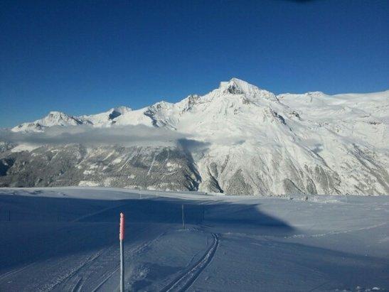 Val Cenis - - 11 aujourd'hui sur les pistes mais avec le soleil que du bonheur ! - © lilitou37