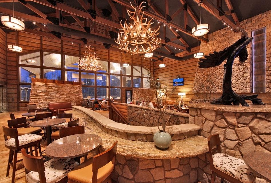 Lift Bar & Patio at Grand Lodge