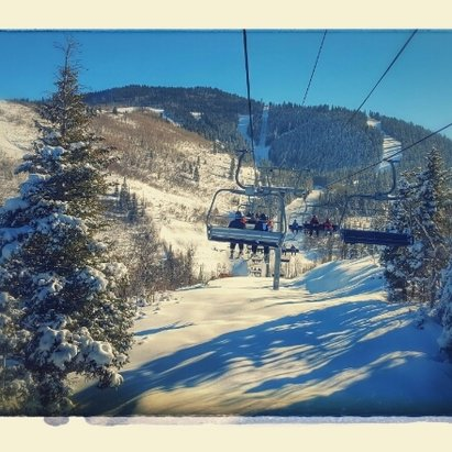 Park City - wonderful skiing, huge mountain! - © spmcgee