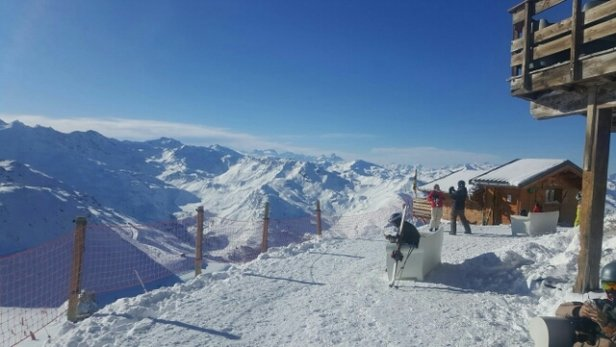 Meribel - the snow conditions put here are absolutely amazing. - ©anonymous