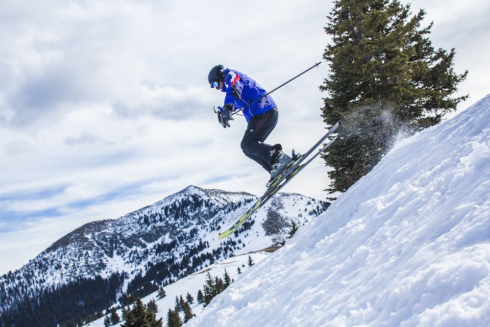 Serious skiing without the crowds.  - © Ski Apache