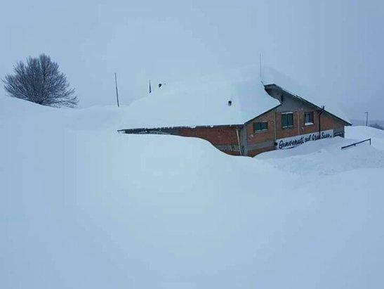 Prati di Tivo - Attenzione!!!! neve metri 4!!! prati di tivo bloccata!!! evacuati tutti i residenti degli alberghi!!! prati di tivo ISOLATO!!!!  - © chef.paoletto