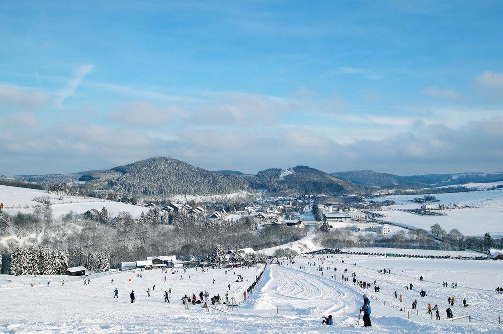 Skihang im Skigebiet Willingen - © Skigebiet Willingen