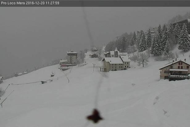 Alpe di Mera 20.12.16 - © Alpe di Mera webcam