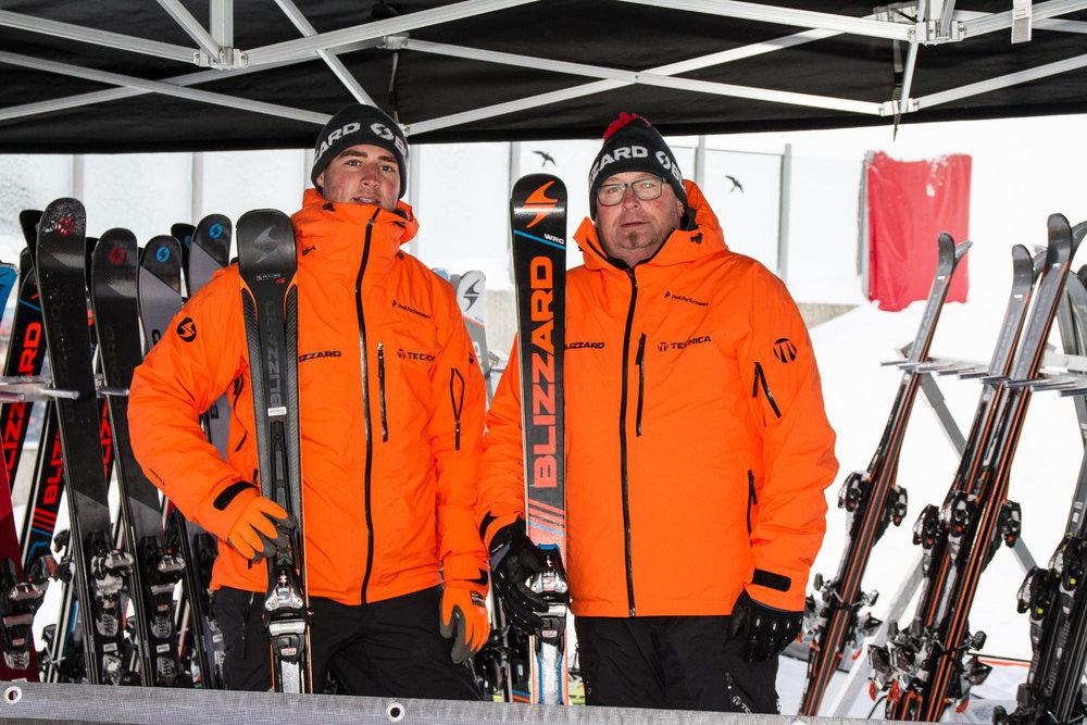 Blizzard beim All On Snow Skitest 2017 - © Skiinfo