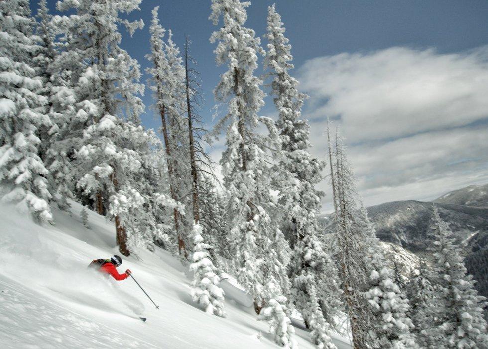 300 blue-sky ski days a year.  - © Ryan Heffernan