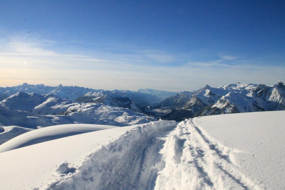 Viel Sonne und hoffentlich auch viel Schnee - das wünschen sich die Skifahrer zu Ostern - © Henning Heilmann