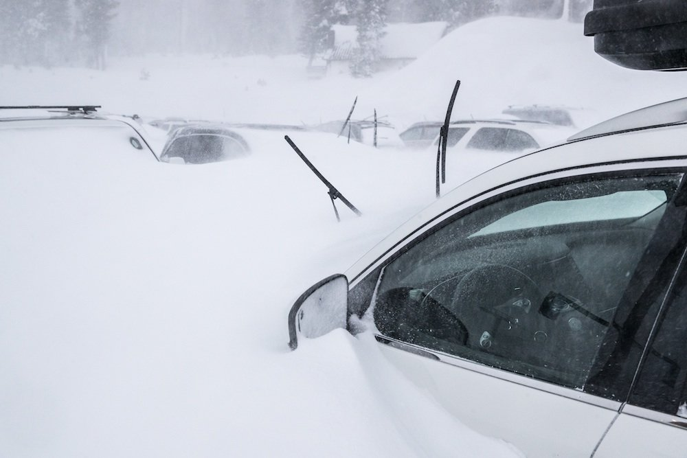 Donate your car day at Mammoth Mountain. - © Mammoth Mountain Ski Area