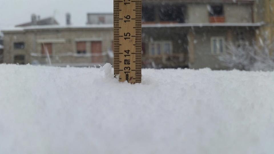 Neve fresca in Sardegna!  - © Sardegna Live Facebook - Foto di