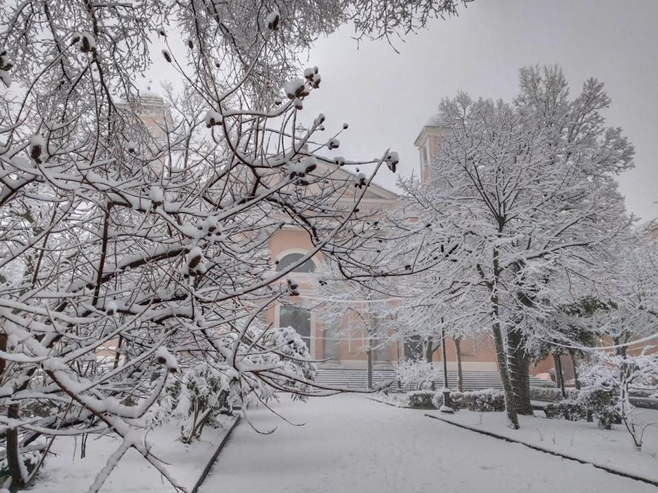 Neve fresca in Sardegna! Città: Nuoro - © Sardegna Live Facebook - Foto di Francesca Pataro