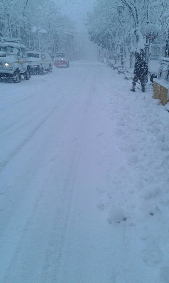 Neve fresca in Sardegna! Città: Laconi - © Sardegna Live Facebook