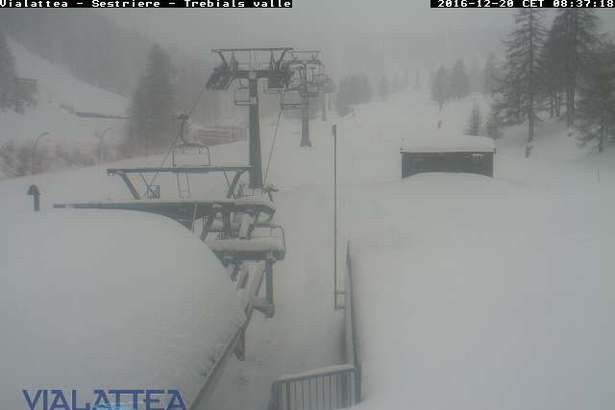 Sestriere 20.12.16 - © Sestriere webcam
