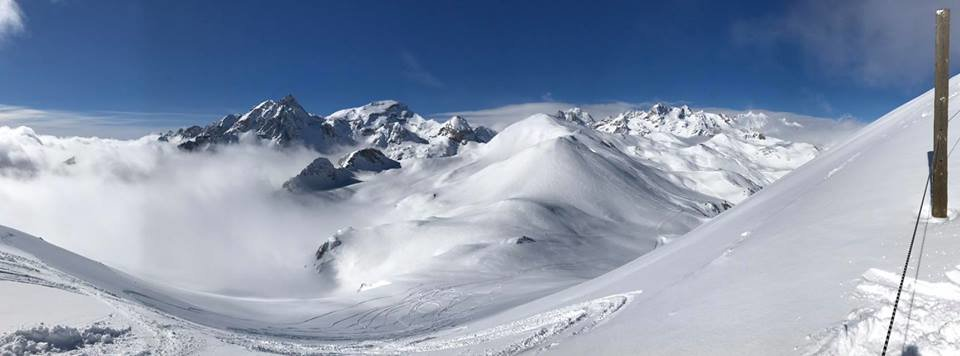 25cm snow in Serre Chevalier March 1, 2017 - © Serre Chevalier