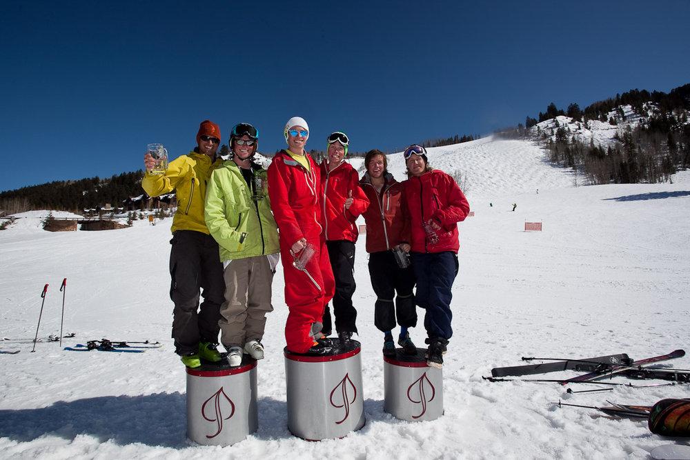 Aspen CO Comp_Ski_Podium_Battle