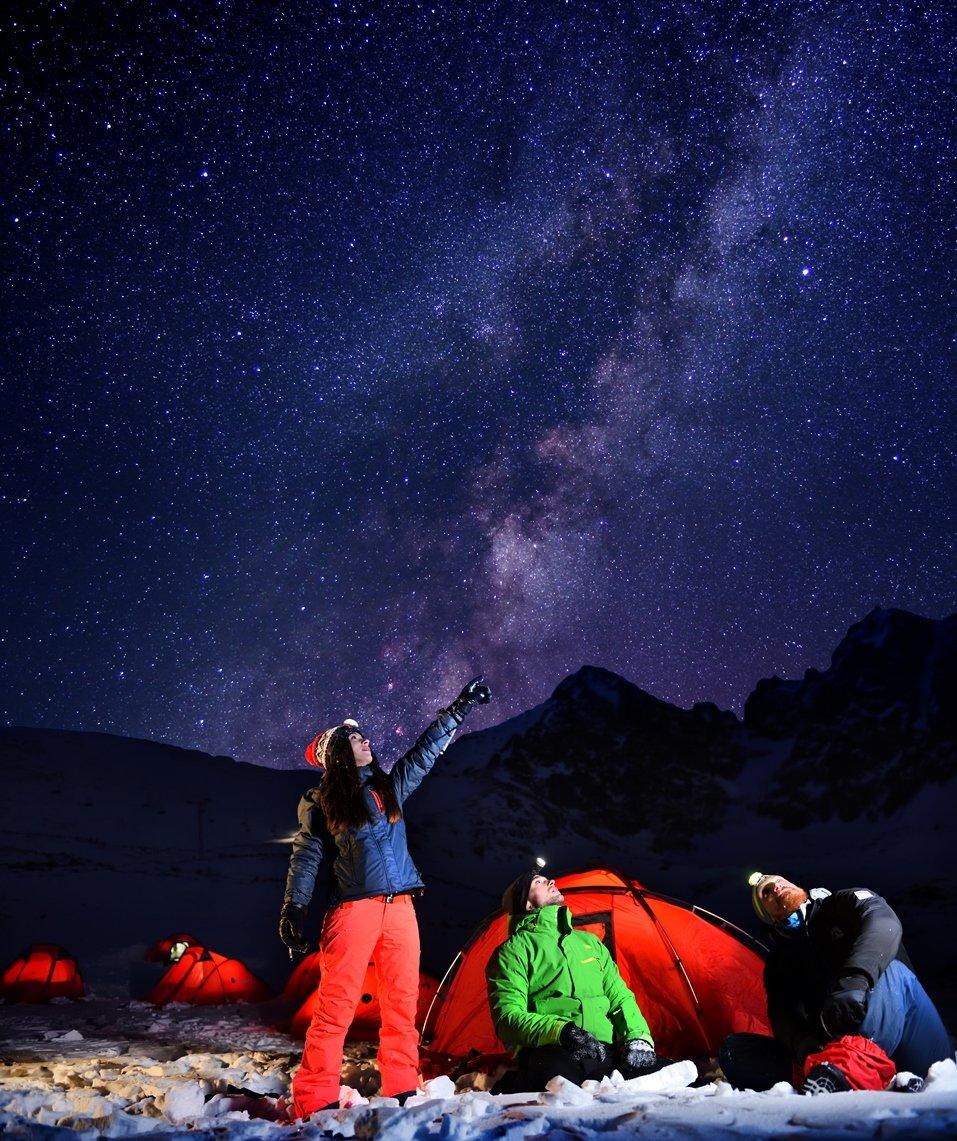 Snow camp Skalnaté pleso - © Marek Hajkovský