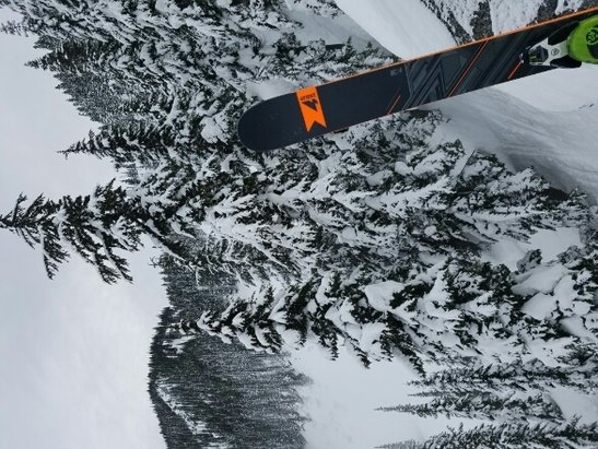 Stevens Pass Resort - probably wouldn't recommend Sunday - ©go cougs