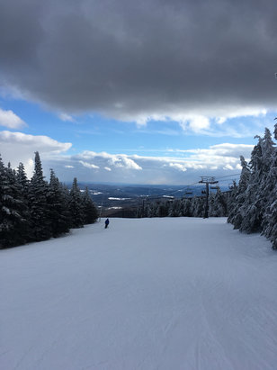 Mount Snow - Great time today. Get. Out. There!  - © MrBagelMan