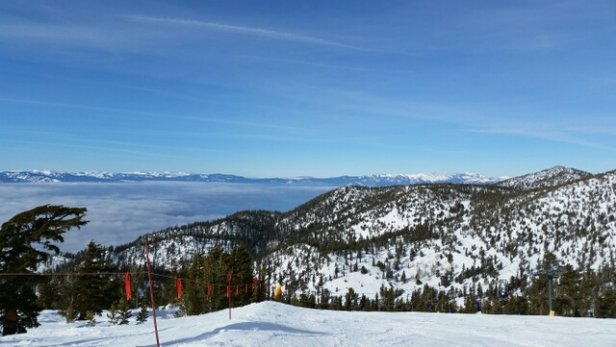 Heavenly Mountain Resort - Beautiful day today.  sunny, warm, minimal crowds.  Great day for skiing Heavenly. - © kathleenhwilliams